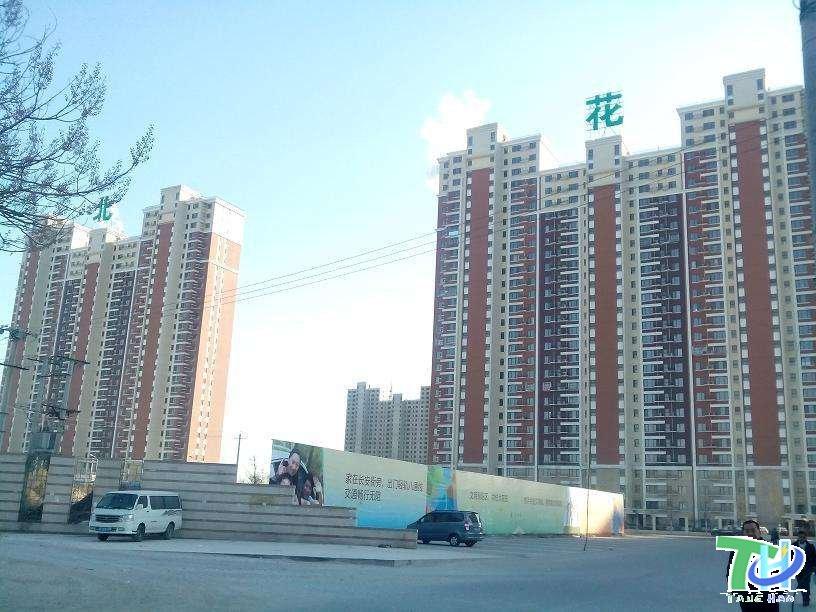 北京市朝阳区北花园小区,给排水管道保温施工