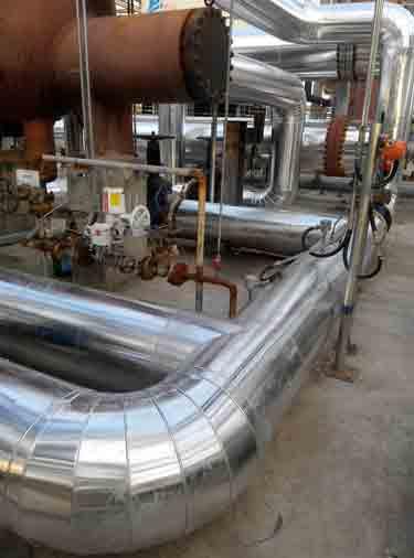 管道铁皮保温施工弯头应该怎么下料
